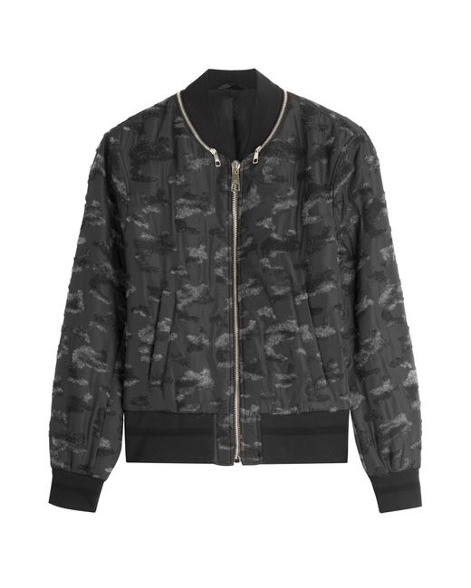 Neil Barrett | Мужское Многоцветный Textured Bomber Jacket Gr. L