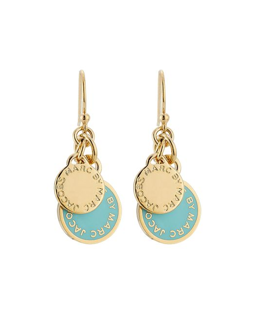 Marc by Marc Jacobs | Женское Синий Logo Charm Earrings Gr. One Size