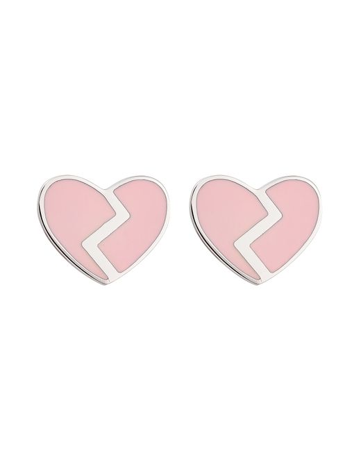 Marc by Marc Jacobs | Женское Rose Heart Earrings Gr. One Size