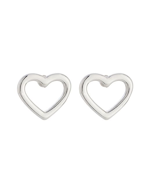 Marc by Marc Jacobs   Женское Серебристый Heart Earrings Gr. One Size