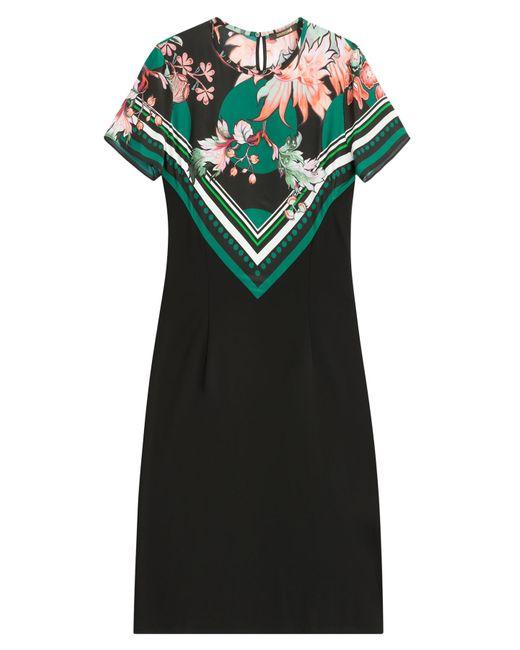 Roberto Cavalli | Женское Цветочный Printed Jersey Dress Gr. It 42