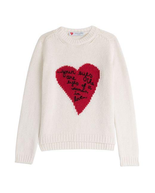 Valentino | Женское Бежевый Lamour Cashmere Pullover Gr. S