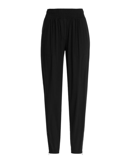 Donna Karan | Женское Чёрный Crepe Pants With Zippers Gr. M