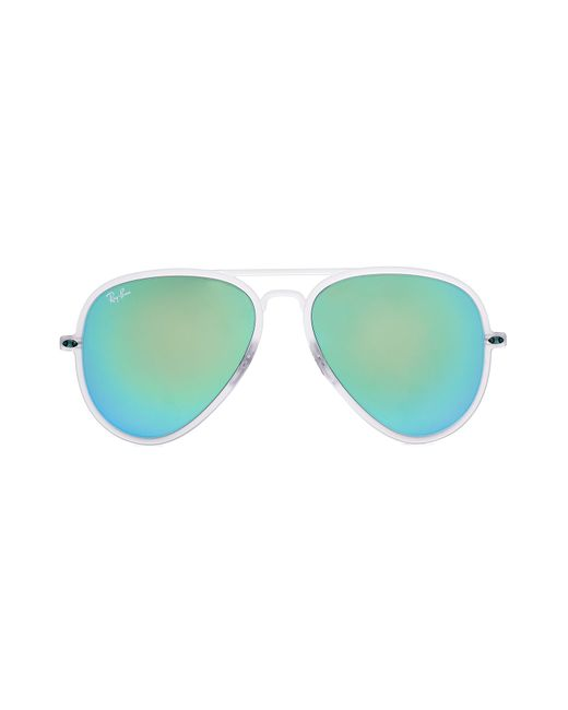 Ray-Ban | Женское Белый Rb4211 Light Ray Ii Sunglasses Gr. One