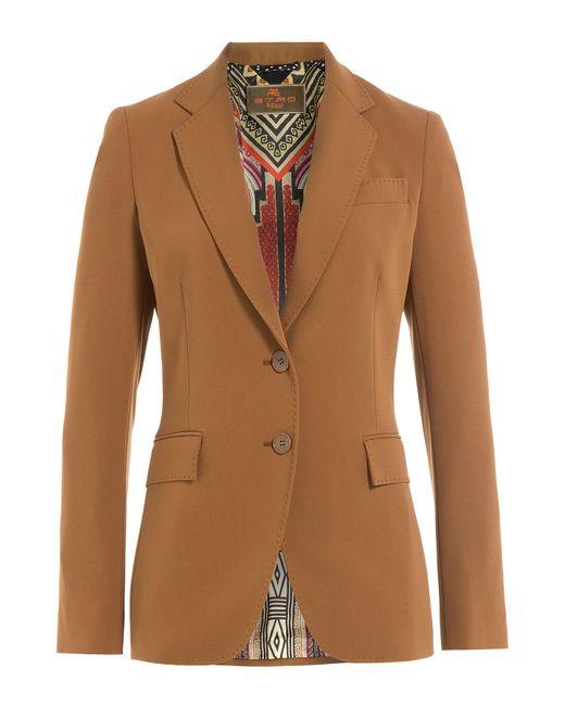 Etro | Женское Camel Tailored Blazer Gr. 36