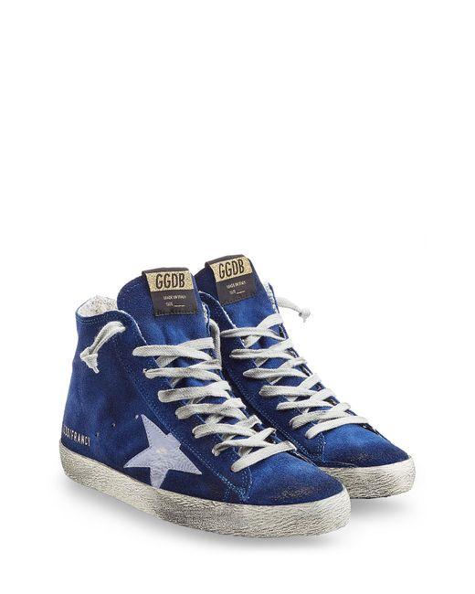 Golden Goose   Женское Синий Francy Suede High-Top Sneakers Gr. 35