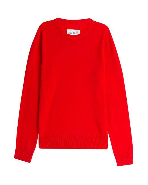 Maison Margiela | Мужское Красный Wool Pullover Gr. M