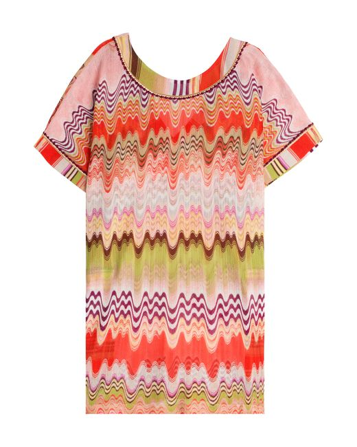 Missoni Mare | Многоцветный Crochet Knit Kaftan Gr. 34
