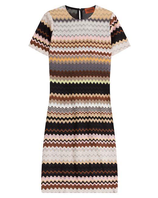 Missoni | Женское Многоцветный Crochet Knit Dress With Wool Gr. It