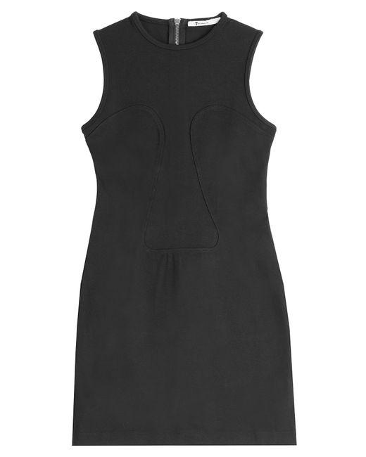 T By Alexander Wang | Женское Чёрный Twill Mini Dress Gr. Xs