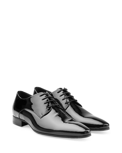 Dsquared2 | Мужское Чёрный Patent Leather Pointed Toe Brogues Gr. Eu