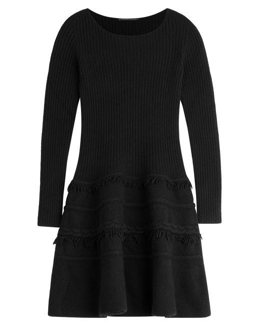 Agnona | Женское Чёрный Knit Dress With Wool And Cashmere Gr.
