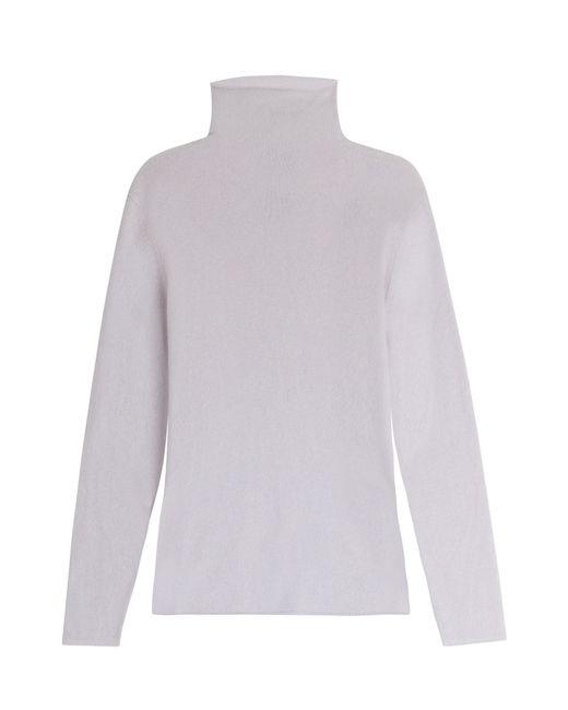 81 Hours by Dear Cashmere | Женское Серый Turtleneck Cashmere Sweater Gr. S