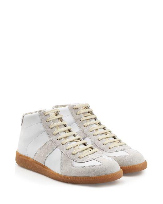 Maison Margiela | Мужское Многоцветный Leather-Suede Sneakers Gr. 40