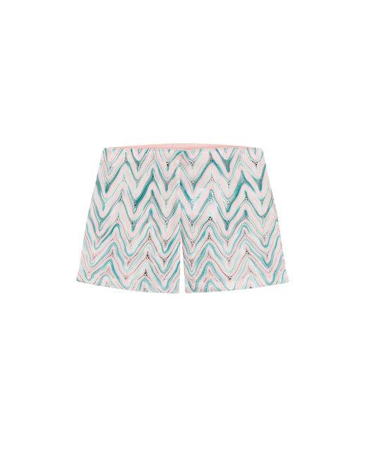 Missoni Mare   Женское Многоцветный Zigzag Print Shorts Gr. 38