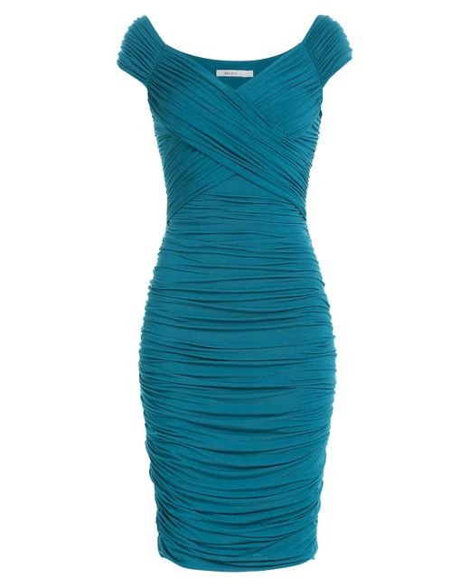 Bailey 44 | Женское Turquoise Draped Jersey Dress Gr. L