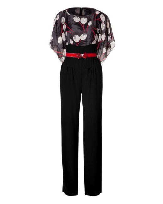 Anna Sui | Женское Многоцветный Belted Jumpsuit Gr. 8
