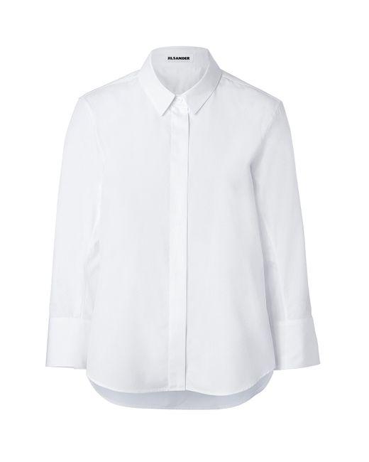 Jil Sander   Женское Белый Cotton Shirt Gr. 34
