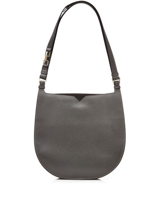 Valextra | Женское Серый Weekend Hobo Leather Tote Gr. One Size