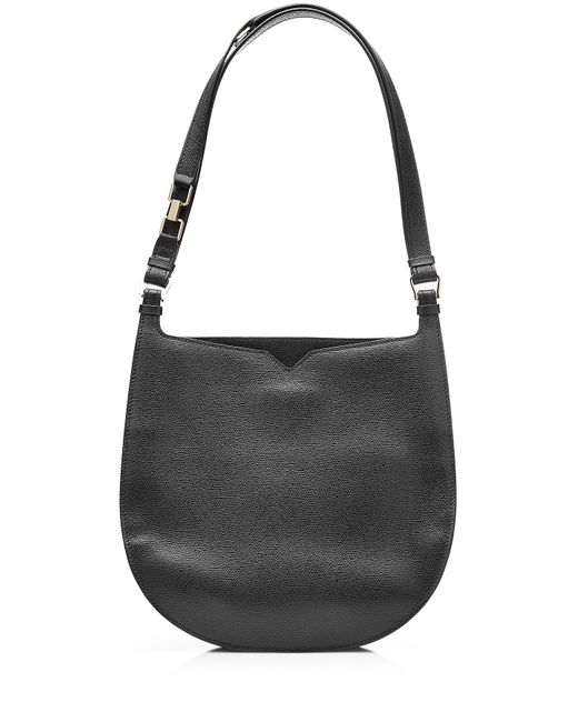 Valextra | Женское Чёрный Weekend Hobo Leather Tote Gr. One Size