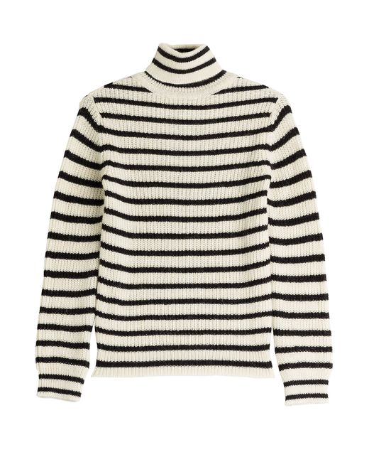 Iro | Женское Gestreift Striped Turtleneck With Alpaca And Wool Gr.
