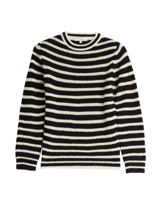 Iro | Женское Gestreift Striped Pullover With Alpaca And Wool Gr.