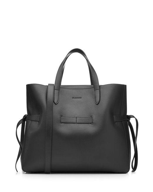Jil Sander   Женское Чёрный Leather Tote Gr. One Size
