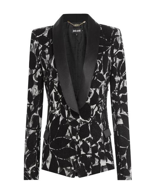 Just Cavalli | Женское Чёрный Sequin Embellished Blazer Gr. It 38