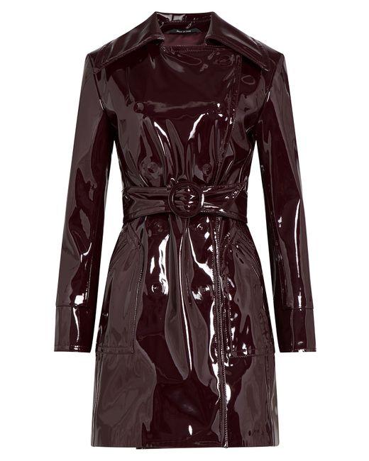 Maison Margiela | Женское Красный Patent Trench Coat Gr. It 40