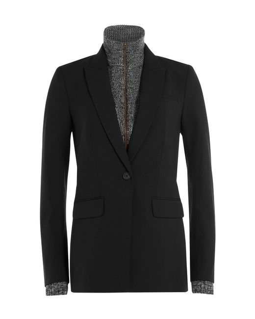 Veronica Beard | Женское Чёрный Blazer And Zipped Top Combo Gr. Us