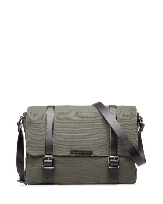 Marc by Marc Jacobs | Зелёный Cotton Messenger Bag With Leather Gr. One
