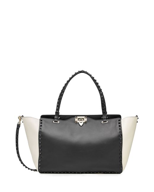 Valentino | Женское Чёрный Rockstud Leather Tote Gr. One Size