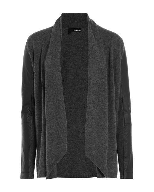 The Kooples | Женское Серый Draped Merino Wool Cardigan Gr. 0