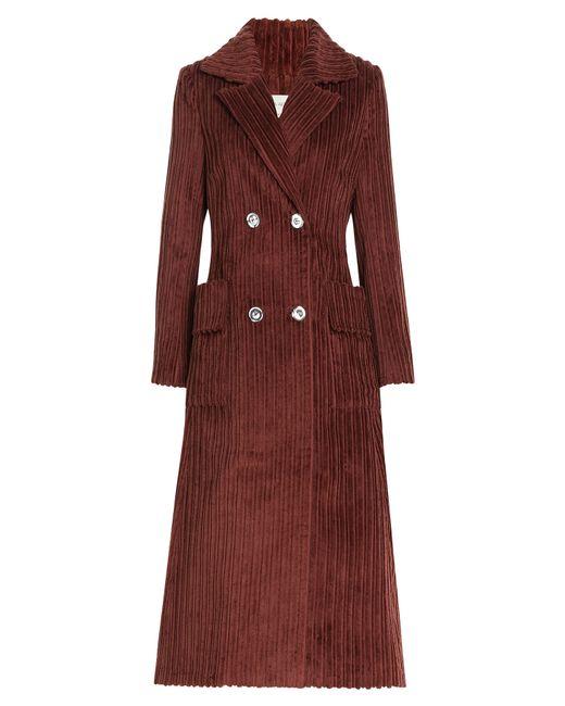 Isa Arfen | Женское Коричневый Corduroy Coat Gr. 6