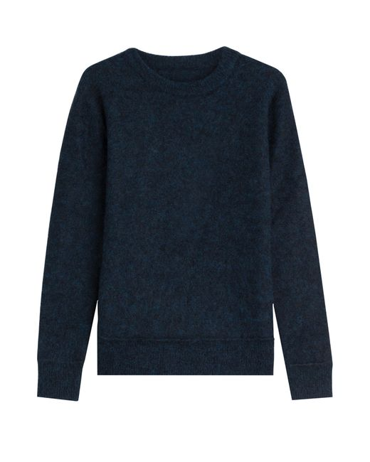 By Malene Birger   Женское Синий Pullover With Wool And Mohair Gr. M