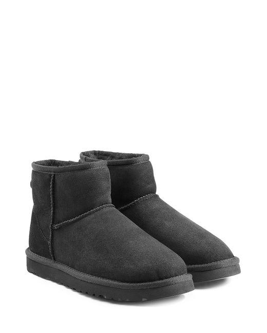 UGG Australia | Женское Чёрный Classic Mini Suede Boots Gr. 5