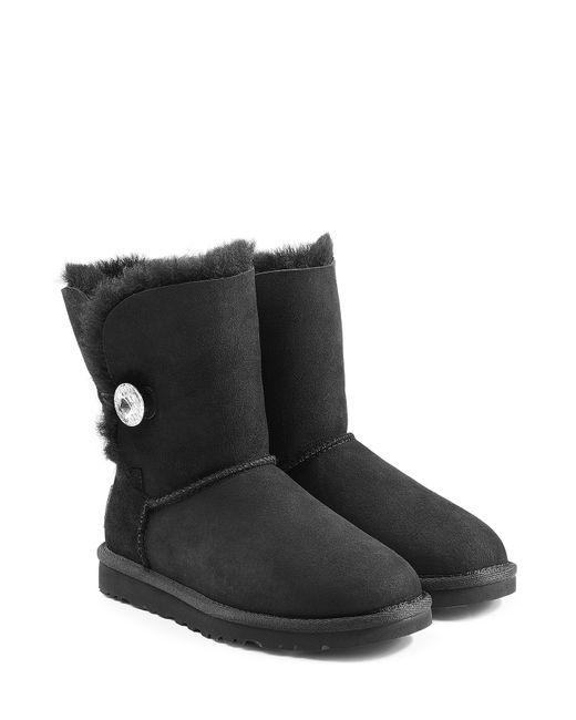 UGG Australia | Женское Чёрный Bailey Bling Boots With Swarovski Crystal Gr.