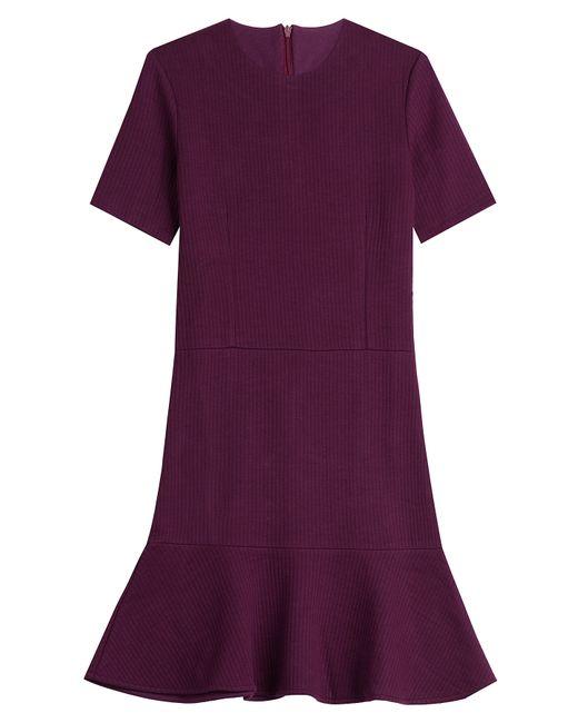 Carven   Женское Красный Dress With Ruffled Hem Gr. M