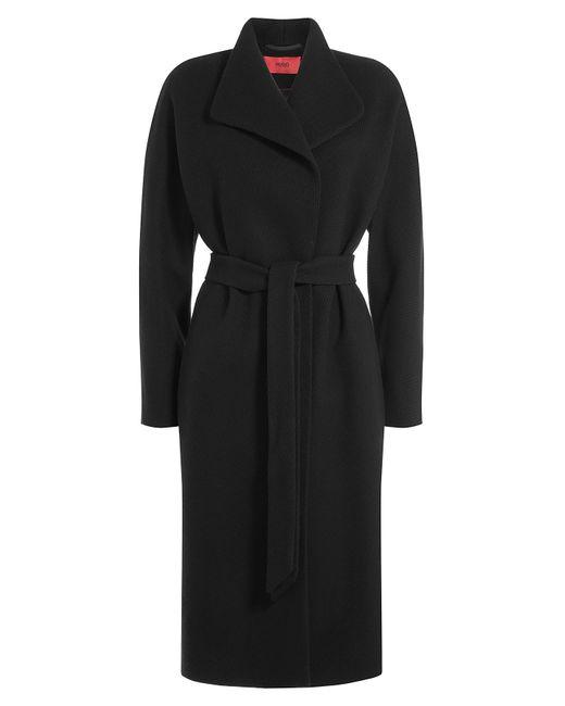 Hugo | Чёрный Wool Coat Gr. De 38