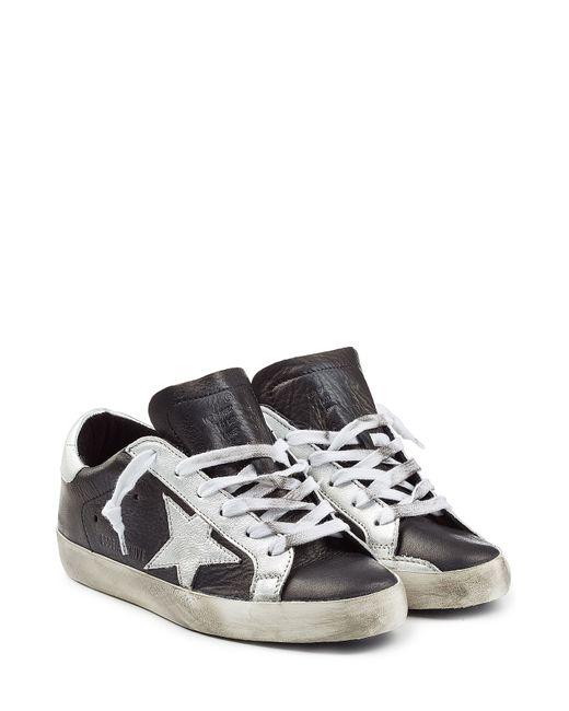 Golden Goose | Женское Чёрный Super Star Leather Sneakers Gr. 35