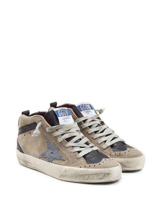 Golden Goose | Женское Серый Mid/Star Suede Sneakers Gr. 35