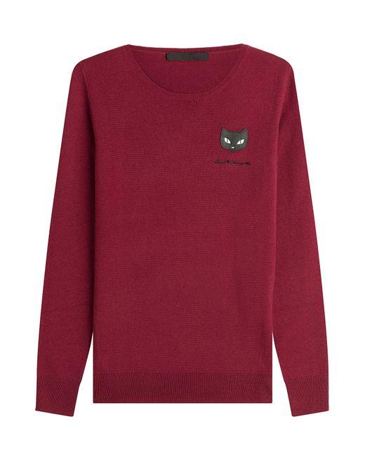 Karl Lagerfeld | Женское Красный Wool Pullover Gr. Xs