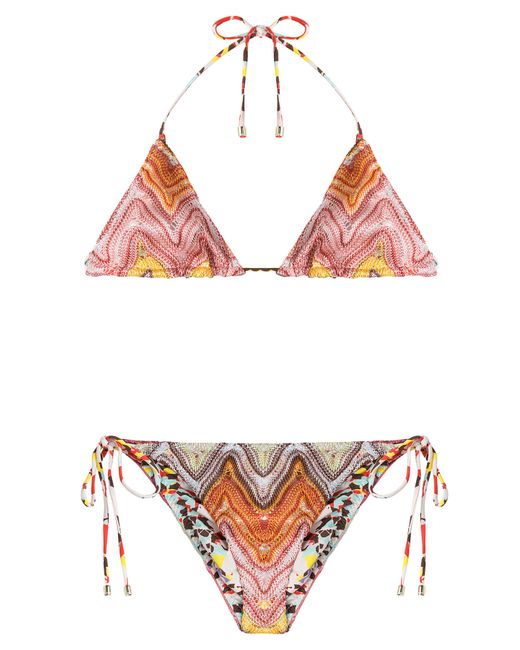 Missoni Mare | Женское Многоцветный Reversible Knit Triangle Bikini Gr. 38