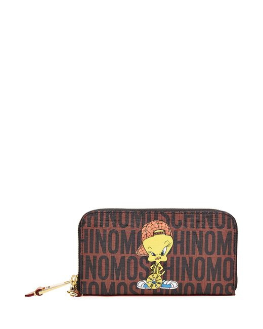Moschino | Женское Многоцветный Wallet With Tweety Motif Gr. One Size