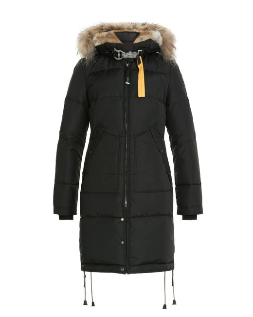 Parajumpers | Женское Чёрный Down Parka With Fur-Trimmed Hood Gr. M