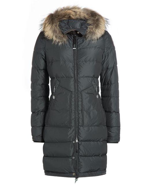 Parajumpers | Женское Серый Down Parka With Detachable Fur-Trimmed Hood Gr.