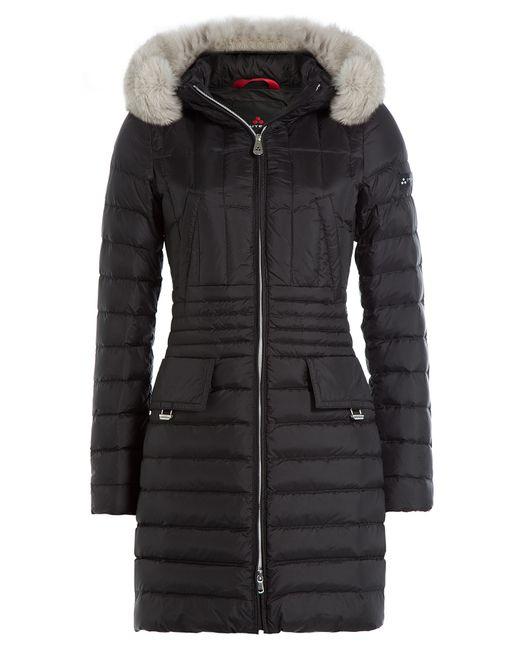 Peuterey | Женское Чёрный Dara Mrq Down Coat With Fox Fur