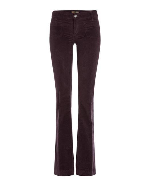 Seafarer | Женское Фиолетовый Flared Corduroy Pants Gr. 25