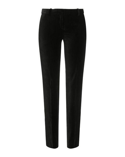 The Kooples | Женское Чёрный Skinny Velvet Pants Gr. 34