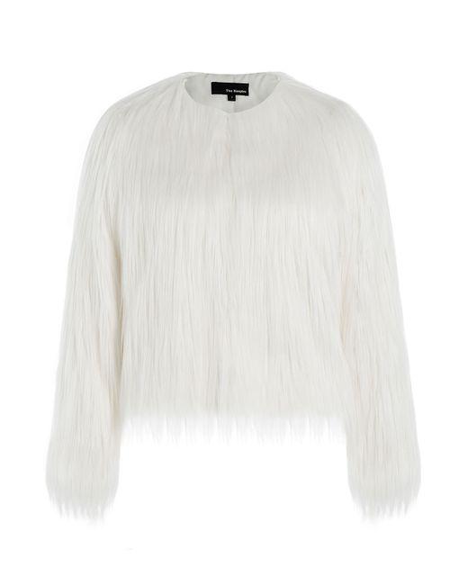 The Kooples | Женское Белый Faux Fur Jacket Gr. 1
